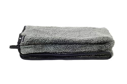 Marc Crouch 550 GSM XL Mikrofasertuch zur professionellen Autopflege - Super Flexibles Tuch mit erstklassigem Handling Dank Übergröße von 70x90cm und enormer Saugfähigkeit