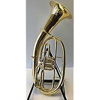 Symphonie Rhénanie-Palatinat Cor ténor/ténor Corne Doré/argenté, minibal Articulation, avec étui rigide de luxe, neuf