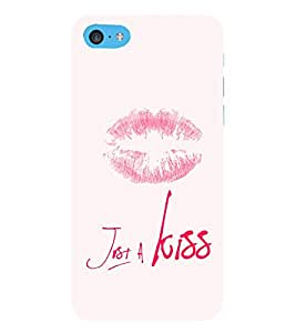 EPICCASE Just a kiss Mobile Back Case Cover For Apple iPod Touch 6 (Designer Case)