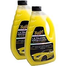 2x Meguiars 650153Ultimate Wash & Wax Auto Champú Cera & Sellado 1420mL