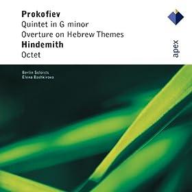 Prokofiev : Quintet in G minor Op.39 : II Andante energico