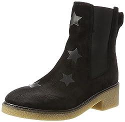 Tommy Hilfiger Damen M1285IA 3B1 Chelsea Boots, Schwarz (Black), 42 EU