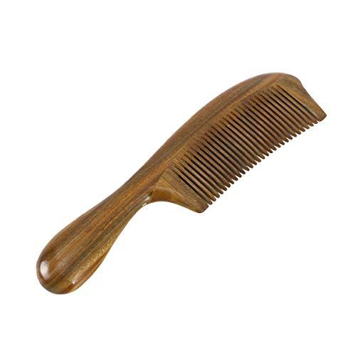 Vosarea Haarkamm aus Holz für Damen und Herren Bartkämme mit Geschlossenen Zähnen, antistatische Haarpflege