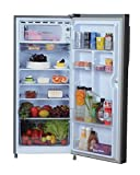 Haier 195 L 5 Star Direct-Cool Single-Door Refrigerator (HRD-20CFDS-E/ HED- 20CFDS, Brushline Silver/Dazzel Steel)