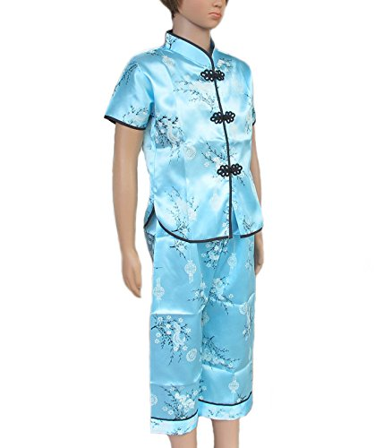 UNISEX FOR CHILDREN BOY AND GIRL SIZE = L SHIRT-PANT CHINESE DRESS SHIRT
