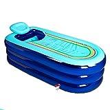 Bañeras Clásicas Confort Inflable Plegable De Plástico Baño Familiar para Adultos Baño De Playa Frente A La Playa Portátil Al Aire Libre Piscina para Niños