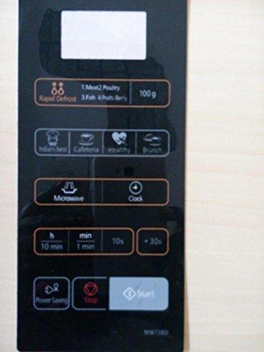 ABLE MW73BD Microwave Oven Membrane Keypad (Black)