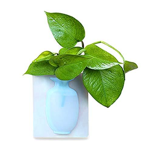 7d7af5672517 Syfinee Silicone Floret Bottle Magic Sticker on Glass Wall Flower Pots