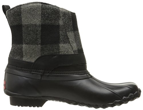 Chooka Step-In Duck Boot Herringbone Synthétique Botte de Chasse Anthracite