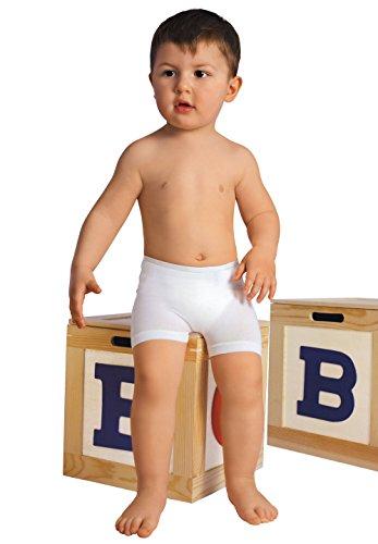 RelaxMaternity Baby 5911 anallergische Boxershorts Baby mit Milchfasern 6-36 Monate Einheitsgröße