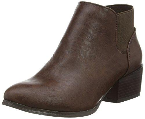 Spot On F50230, Ankle Boots sans Doublure Femme