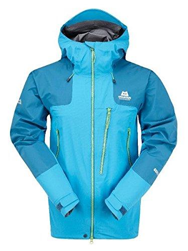 Mountain Equipment Lhotse Jacket Größe L neptun/nautilus/lime green zips