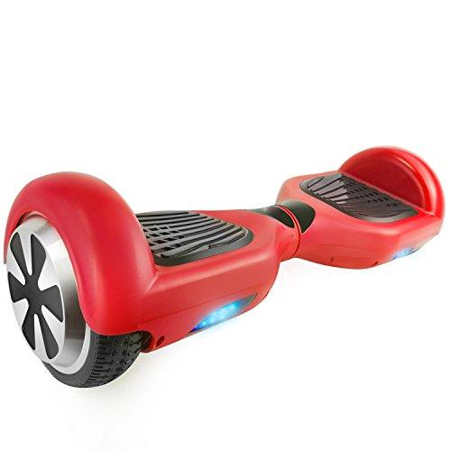 Urbango Ultraboard Hoverboard Enfant Rouge - Batterie 36v - Balance board