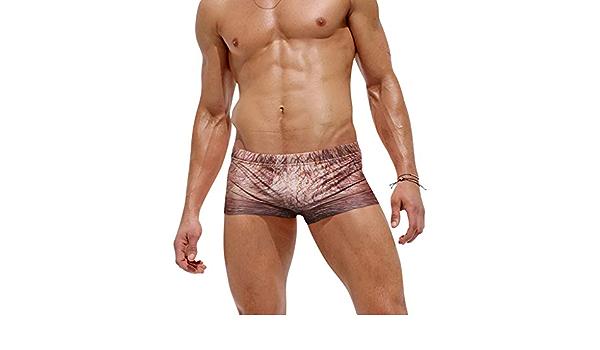 Badehose Mode Breiter heißer Badeanzug Schnelltrocknende Männer Y6S5