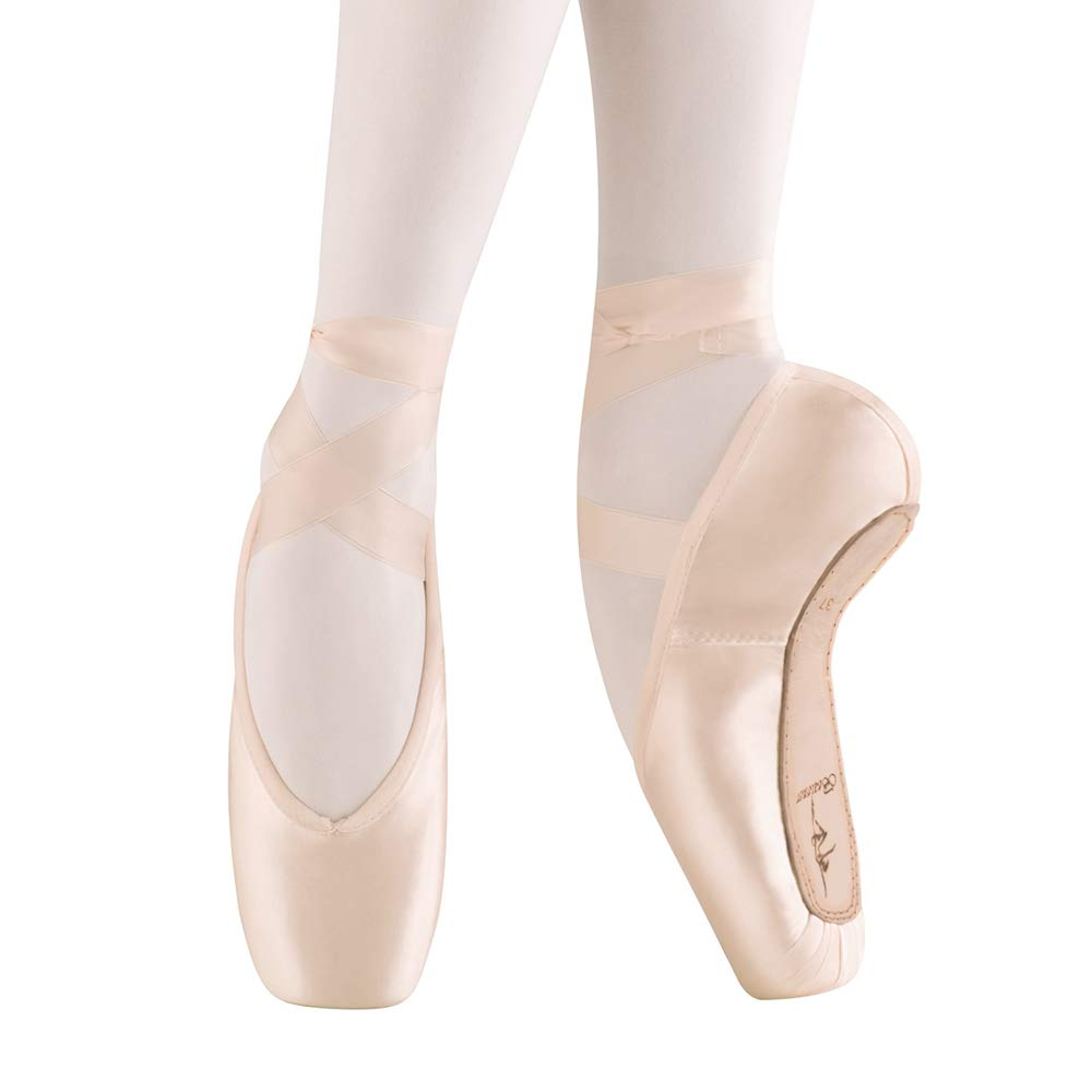 competitive price huge discount later Ballet Pointe Shoes Satin Professional Dance Shoes with Silicone ...