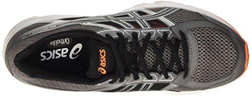 Asics Gel-Contend 4, Chaussures de Tennis Homme Gris (Carbon/black/hot Orange)
