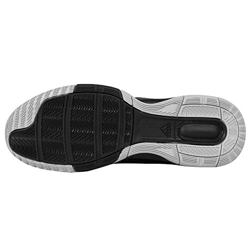 adidas First Step, Scarpe da Basket Uomo Multicolore (Negro / Blanco / Plata (Negbas / Ftwbla / Plamet))