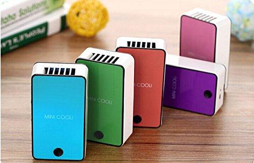 Mini Hand Handliche USB- Cool Luefter Klimaanlage Tragbare Luefterelektrische Lüfter mit ABS-Kunststoff Kuehlung Klimaanlage (orange) - 3