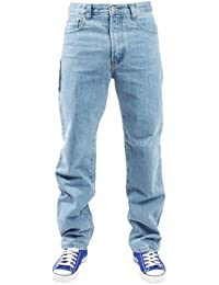"Jeans Hommes - Décontracté Pantalon Jeans - 31"" JAMBE - Taille Taille 32-44 - Neuf"