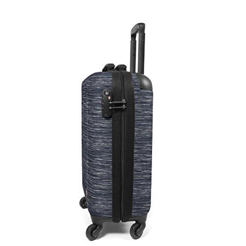 Eastpak Tranzshell S Koffer, 54 cm, 32 L, Black Knit Grey