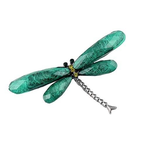 Amosfun Harz Libelle Brosche Exquisite Revers Pin Corsage Breastpin Schmuck Kostüm Hochzeit Frauen