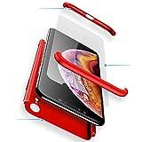 Coque iPhone XR [avec Verre Trempé] WYRHS Etui 360 degré de Protection Ultra-Mince...