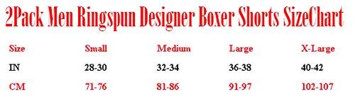 NEW 2Boxer da uomo ringspundesigner breve Trunks Set Regalo Grey/Petrol