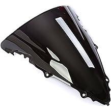 CICMOD Parabrisas Moto Cúpula Parabrisas Moto Antiviento Windshield WindScreen para Yamaha YZF R6 600 2003-