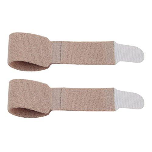Healifty 1 par de soporte de tablilla con abrazadera para dedo para dedos de martillo dactilar roto lesionado