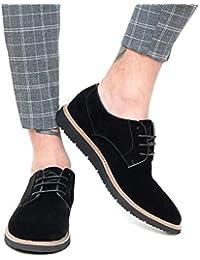 Amazon.it  scarpe inglesine uomo - Nero   Scarpe da uomo   Scarpe ... 2426764843a