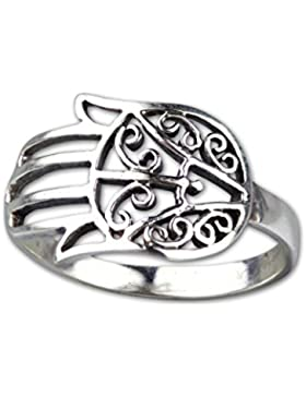 etNox-Ring ''Fatimahs Hand'' 925 Silber (R597)