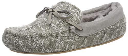 flip*flop Damen loaferknit Pantoffeln, Grau (Grey 0300), 40 EU