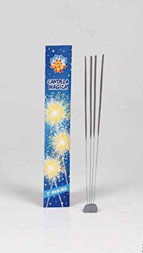 100 pz Candeline 2° misura scintille bastoncino luminoso pirotecnico stelline festa
