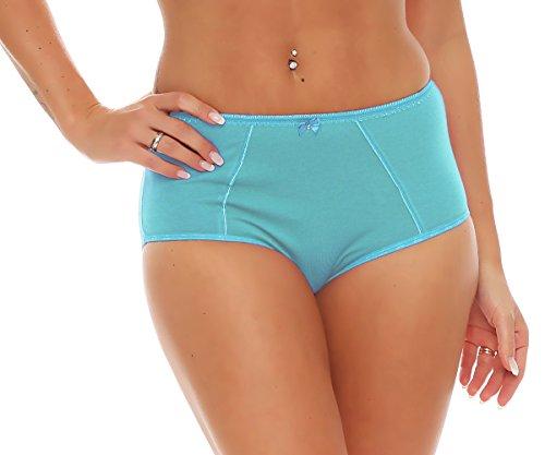 Damen Slip / Schlüpfer viele Farben Nr. 426 Blau