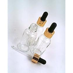 3 botellas de vidrio...