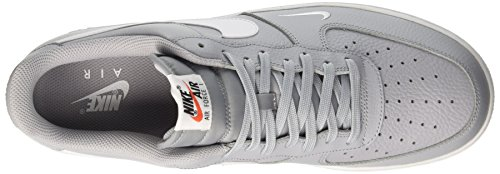 Nike Air Force 1, Chaussures de Basketball Homme Multicolore (Wolf Grey/white/white)