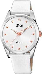 Lotus Reloj Analógico para Mujer de Cuarzo con Correa en Cuero 18642/1