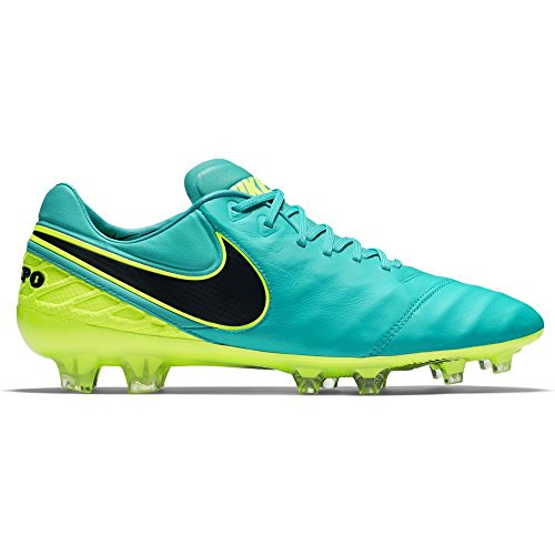 Nike Tiempo Legend Vi Fg, Chaussures de Football Homme, UK Bleu