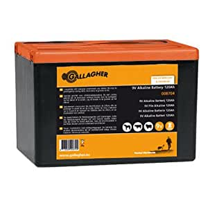 Gallagher Powerpack Energizer - 120Ah batterie 9 V