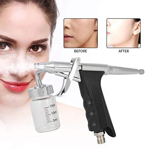 Beauty AirBrush Pen, Professionelles Wassersprühgerät, Sauerstoffinjektions Kit Handheld Anti Aging Sprühgerät Normalerweise geschlossene Gesichts Feuchtigkeitssprühmaschine(Schwarz) -