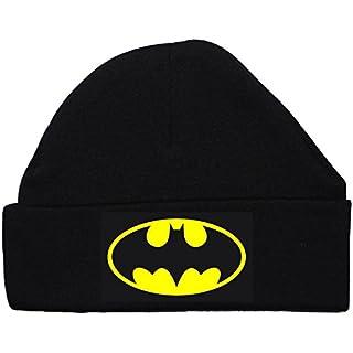 Acce Products Bat Baby Beanie Hat/Cap Batman schwarz 0bis 12Monate Gr. XXXS, schwarz