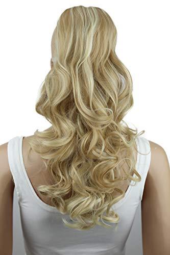 PRETTYSHOP Haarteil Zopf Pferdeschwanz Haarverdichtung Haarverlängerung VOLUMINÖS 55cm honigblond mix #27H613 PH30