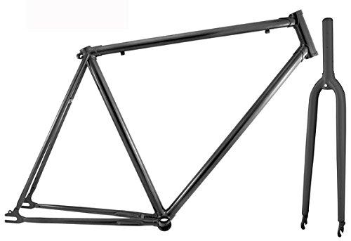 RMS Kit Telaio + Forcella Fixed 700cx50 Nero Kit Frames + Fork Fixed 700cx50 Black