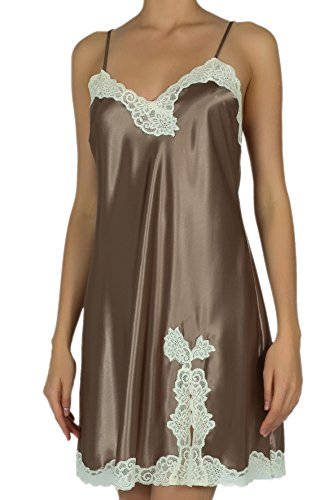 Rosme - Chemise de nuit - Femme marron marron Marron