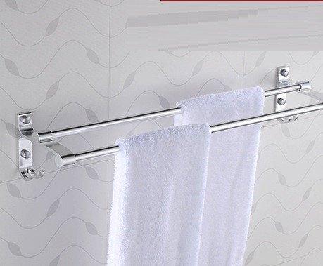 Preisvergleich Produktbild weltraum - aluminium double rod licht kühne double rod praktische vier haken design handtuch groß, 60