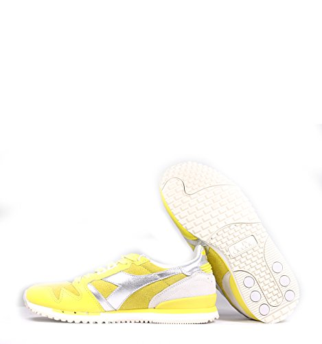 Calzature Donna DIADORA sneaker glitterata Giallo