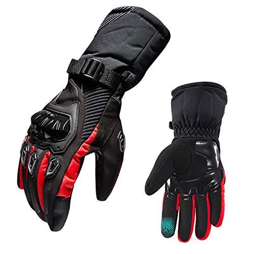 guanti di protezione TRILINK Guanti Da Moto - Guanti Invernali Touchscreen Per Uomo e Donna - Guanti Caldi Impermeabili Per Sci