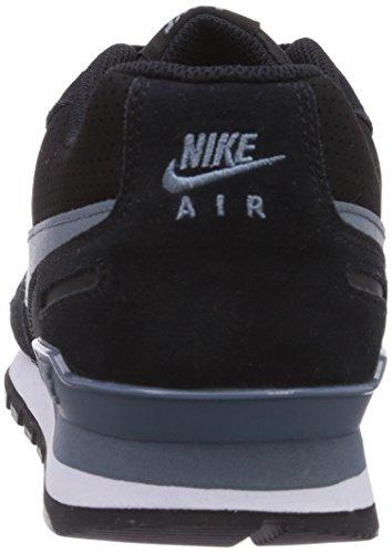 Nike Air Waffle Trainer 454395 Herren Sneakers Schwarz (Black/Blue Graphite-White)