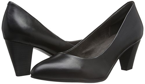 Tamaris 22414, Scarpe con Tacco Donna Nero (BLACK LEATHER 003)