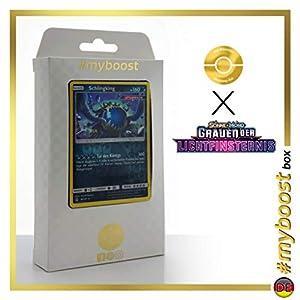 Schingking (Guzzlord) 80/131 Holo Reverse - #myboost X Sonne & Mond 6 Grauen Der Lichtfinsternis - Box de 10 Cartas Pokémon Aleman